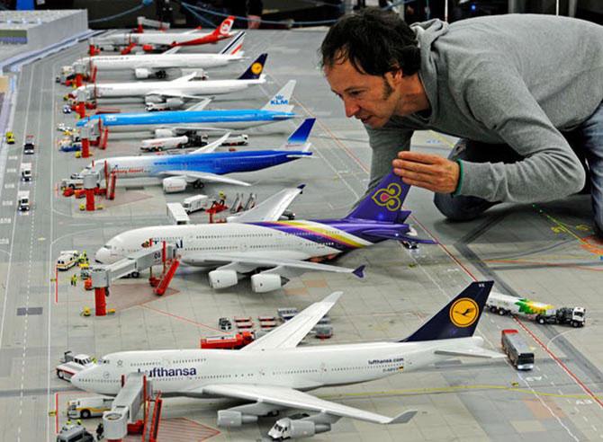 Самая большая модель аэропорта в мире