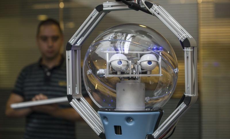 Встречайте Боба: Первого британского робота-охранника