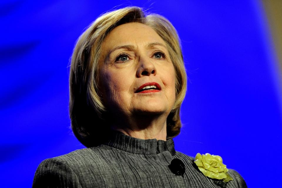 1. Хиллари Клинтон