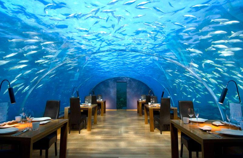 18 незабываемых ресторанов с уникальным расположением