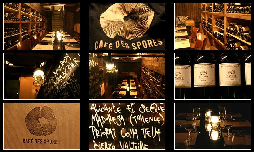 Café des spores (Брюссель, Бельгия)